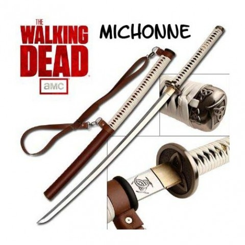 KATANA FUNCIONAL DE MICHONNE-THE WALKING DEAD