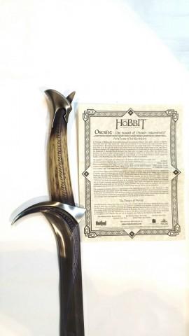 ESPADA OFICIAL ORCRIST DE THORIN OAKENSHIELD (THE HOBBIT)